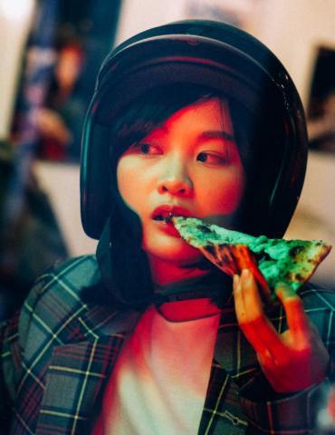【 大稻埕 / 延平北路 】覺得迷惘 – 每張披薩都有張臉 PIZZA HAS A FACE